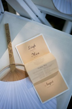 folded-wedding-program