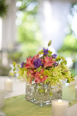 garden-flower-centerpiece