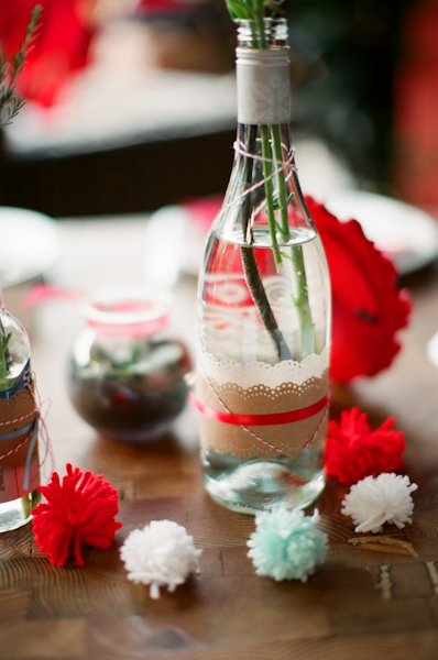 lace-wrapped-bottle-centerpiece