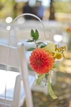 orange-dahlia-aisle-decor