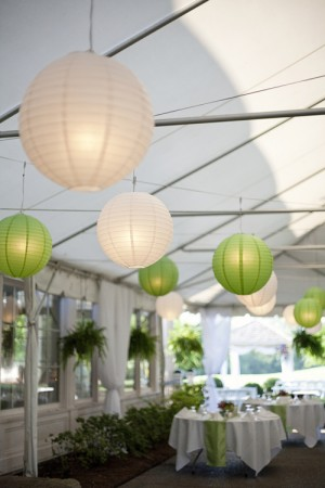 white-and-green-paper-lanterns