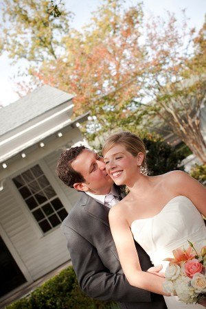 Bride-and-Groom-Kissing
