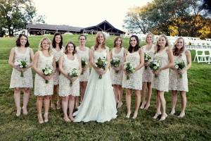 Cream-Lace-Bridesmaids-Dresses