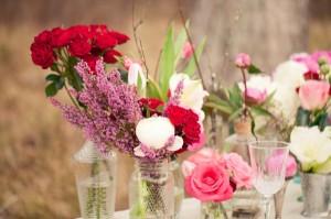 Flowers-in-Glass-Vases