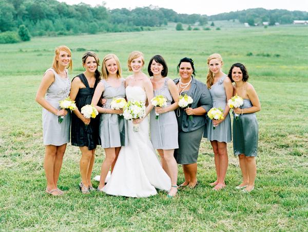 Gray-Bridesmaids