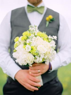 Gray-Yellow-Green-Wedding