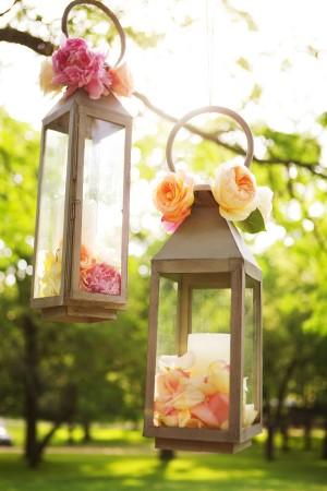 Peach Garden Wedding Inspiration - Elizabeth Anne Designs: The ...