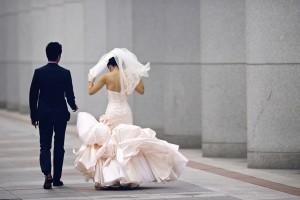 Ines-Di-Santo-Pink-Ruffled-Wedding-Dress