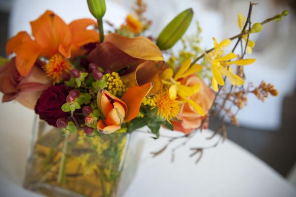 Orange-Green-Wedding-Centerpiece-4