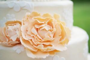 Peach-Sugar-Flower-Cake