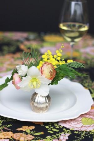 Peach-Yellow-Bud-Vase-Centerpiece