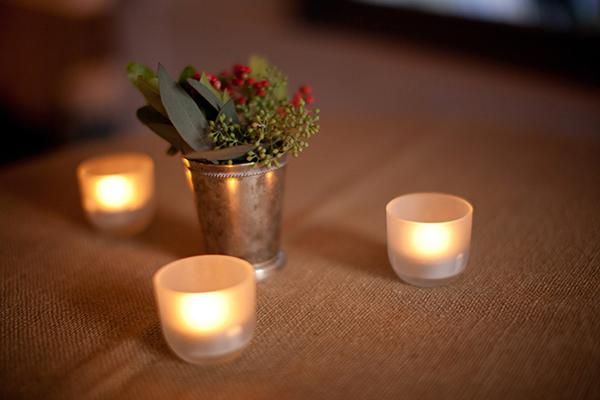 Pewter Bud Vase Centerpiece Elizabeth Anne Designs The Wedding Blog
