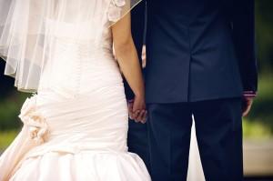 Pink-Mermaid-Wedding-Gown