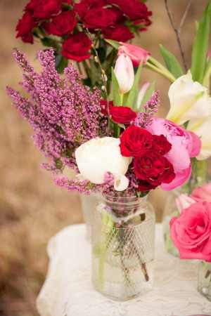 Pink-Purple-Red-Centerpiece