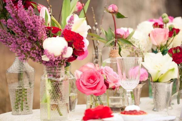 Pink-Purple-Valentines-Table-Centerpiece