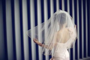 Pink-Veiled-Bride
