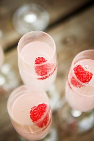 Raspberry-Champagne