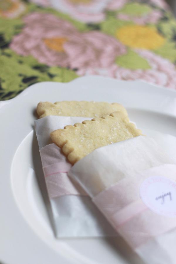 Shortbread Cookie Wedding Favors 3 Elizabeth Anne Designs The