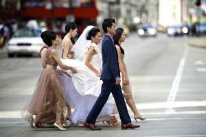 Taupe-Chiffon-Bridesmaid-Dresses