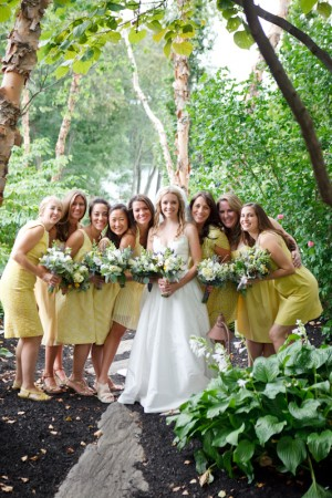 Yellow-Bridesmaids-Dresses