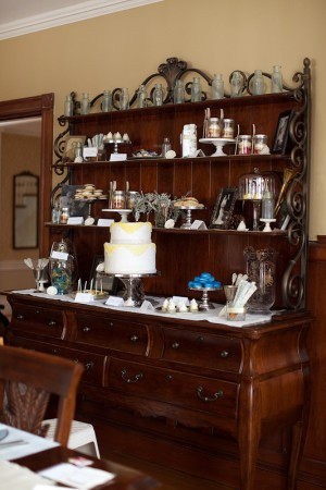 Antique-China-Cabinet-Dessert-Display