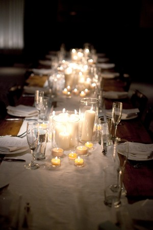 Clustered-Pillar-Candle-Centerpieces
