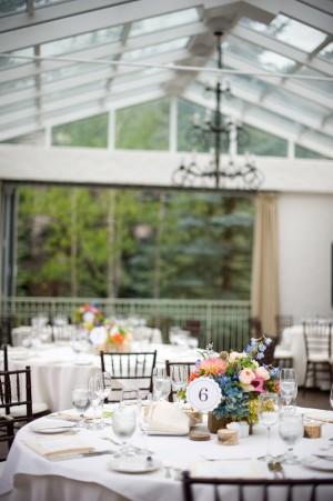 Colorful-Blue-Green-Mountain-Wedding-Reception