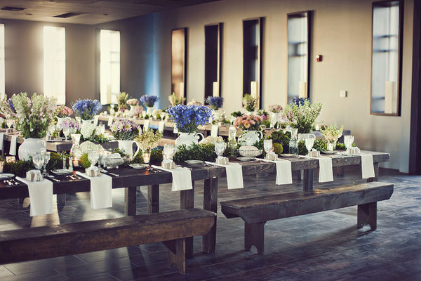 Kindred :: Farm to Table Wedding Inspiration | Outdoor ... |Farmhouse Table Wedding Reception