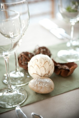 Painted-Stone-Escort-Cards