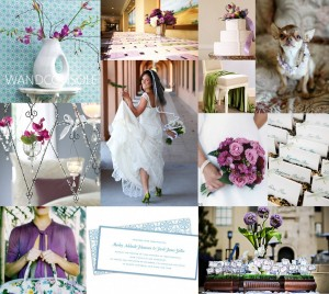 Purple-Aqua-Chartreuse-Wedding-Inspiration
