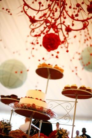 Red-Dessert-Display