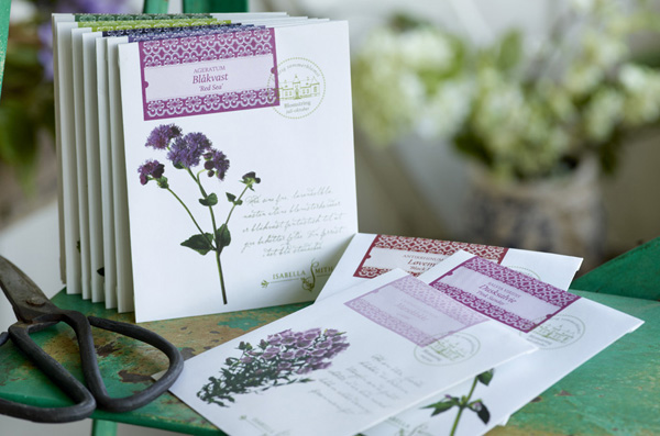 Garden Wedding Ideas: Seed Packets