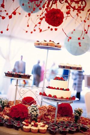 Whimsical-Aqua-Red-Wedding-Reception-7