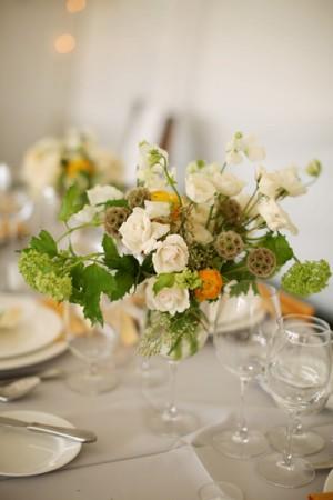 White-Garden-Rose-Centerpiece