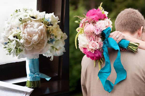 aqua-pink-bouquet-ribbon1