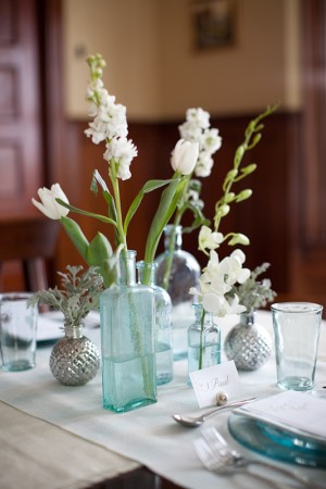 blue-silver-and-white-vintage-wedding