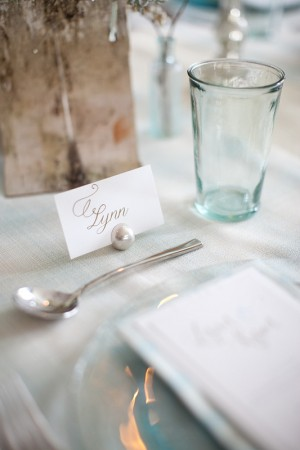 silver-ball-place-card-holder