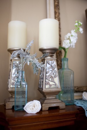 vintage-blue-glass-bud-vases