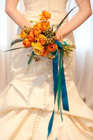 Bouquet-with-Hanging-Ribbons