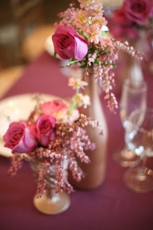Bronze-Vases-Purple-Flowers