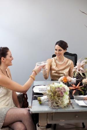 Champagne-Peach-Modern-Wedding