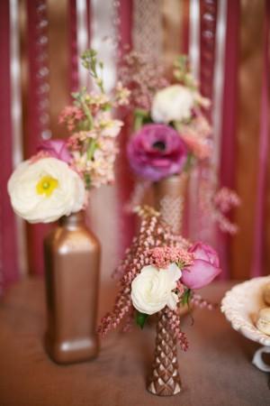 Copper-Pink-Purple-Vases