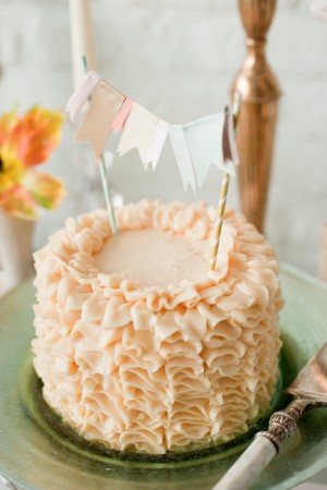 DIY-Pink-Ruffle-Cake
