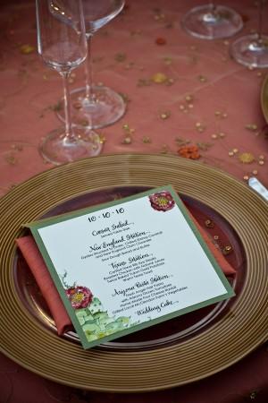 Garden-Wedding-Menu