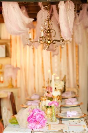 Gold-Pink-Wedding-Centerpiece