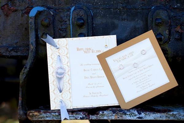 Gold-Silver-Wedding-Invitations