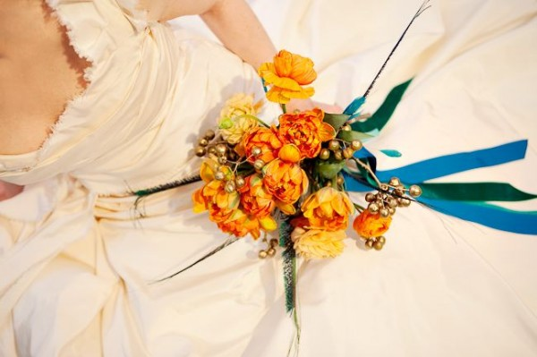 Modern-Orange-Bouquet