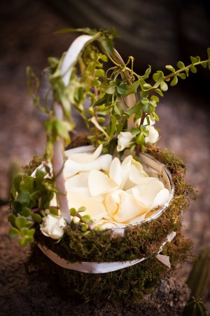 Moss-Covered-Flowergirl-Basket