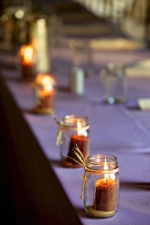 Pillar-Candles-in-Mason-Jars