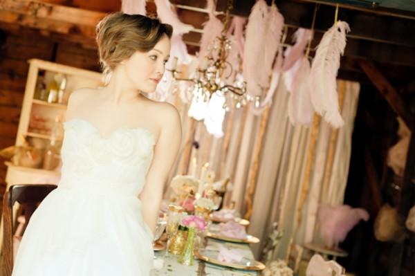 Pink-Gold-Vintage-Wedding-Ideas